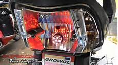 Modif Lu Led Supra X 125 by 100 Modifikasi Lu Honda Beat Fi Modifikasi Motor Beat