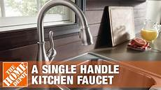 how to install delta kitchen faucet delta faucets how to install a single handle kitchen faucet
