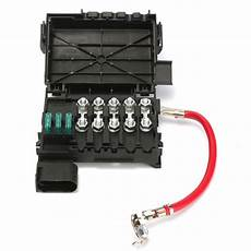 2004 volkswagen fuse box fuse box battery terminal insurance tablets for vw jetta golf mk4 1999 2004 1j0937550a in fuses