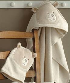 baby badetuch aus frottee mit kapuze baby handtuch