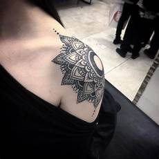 Mandala Shoulder On Tattoochief Mandala