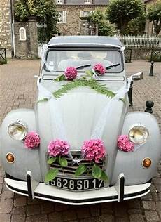 decoration voiture mariage kit mariage 2cv