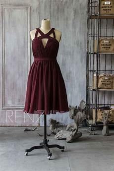 brautjungfer kleid bordeaux brautjungfer kleid bordeaux rot trendige kleider f 252 r die