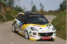 new opel adam r2 sets impressive pace rallystar