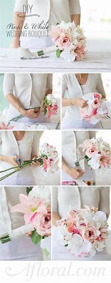 how to assemble a simple silk flower bouquet flower