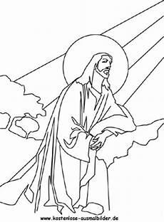 Ausmalbilder Ostern Jesus Ausmalbilder Jesus Ausmalbild Ostern Jesus 4 Zum Ausdrucken