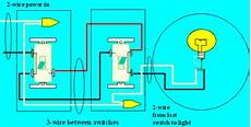 3 Way 4 Switch Wiring Diagram Ask The by How To Wire Two Switches To One Light