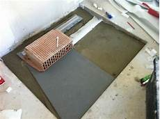 bodengleiche dusche abdichten badeinrichtung hausbau ein baublog
