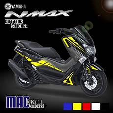 Variasi Stiker Nmax by Gambar Design Cutting Sticker Motor Nmax Modif Sticker