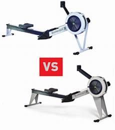 concept2 compare model d vs model e rowing machine