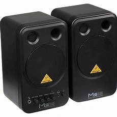 speaker monitor behringer behringer ms16 2 way active nearfield monitors pair ms16 b h