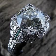 diamond ring i have ever seen 3 60 carat old european cut new york vintage