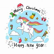 a merry christmas for unicorn christmas