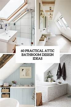 Modern Attic Bathroom Ideas by 60 Practical Attic Bathroom Design Ideas Digsdigs