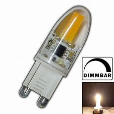 g9 led leuchtmittel mini g9 cob led 2 watt dimmbar a warmwei 223 220v
