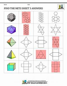 grade 5 geometry nets worksheets 828 geometry nets information page