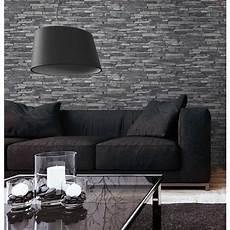 Tapeten Ideen Wohnzimmer Grau - tapete steinoptik grau wohnzimmer tapeten design best of