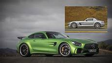 How The Mercedes Sls Amg Evolved Into The Mercedes Amg Gt