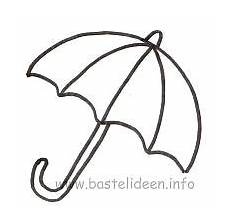 Gratis Malvorlagen Regenschirm Craft Http Www Bastelideen Info Assets Images Regenschirm