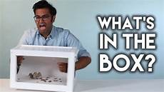 what s in the box youtube