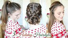 3 cute braid hairstyles for the holidays braided hairstyles braidsandstyles12 youtube