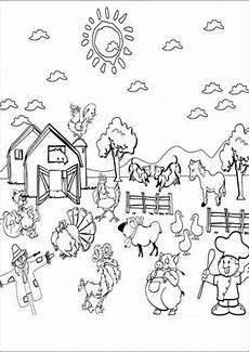 Ausmalbilder Kinder Bauernhof Bauernhof Malvorlagen Kostenlos Zum Ausdrucken