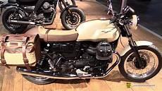 moto guzzi v7 iii 2017 moto guzzi v7 iii accessorized walkaround 2016