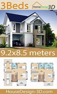 sims 3 house plans 9 2x8 5 with 3 bedrooms in 2020 with images house