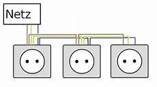schaltung le schalter steckdose doppelsteckdose eine seite defekt haustechnikdialog