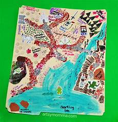 tale geography lesson 15007 make believe map craft map crafts make believe tale activities