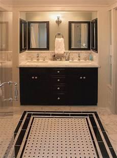 bathroom tiles black and white ideas 30 black white colored bathroom design ideas