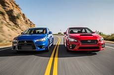 Subaru Or Evo by The End Of A Rivalry Mitsubishi Lancer Evolution Mr And