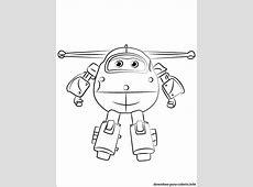Jett Super Wings   Desenhos para colorir