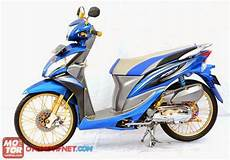 Modifikasi Motor Spacy by Modifikasi Motor Honda Spacy Velg Jari Jari Terbaru