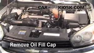 How To Add Coolant Chevrolet Malibu 2004 2008  2005