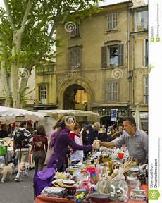 outdoor market aix en provence editorial stock