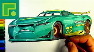 Cars 3 The Next Gen Racer Rev N Go No73 Drawing  YouTube