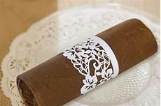 picture of creative napkin rings ideas as pretty wedding table decor adornment