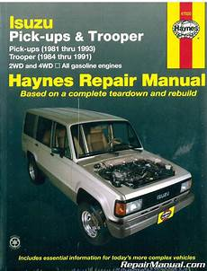 hayes car manuals 1992 isuzu trooper free book repair manuals haynes isuzu trooper pick ups 1981 1993 auto repair manual h47020 ebay