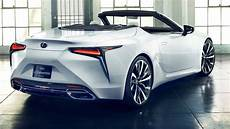 2020 lexus lc convertible interior exterior look
