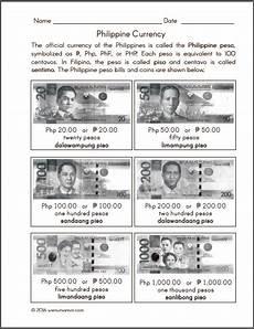 peso money worksheets for grade 2 2649 philippine money chart and worksheets samut samot