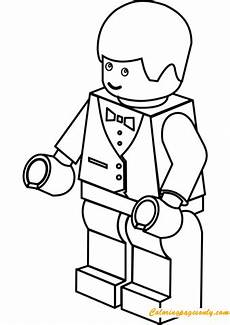 lego city waiter coloring page free coloring pages