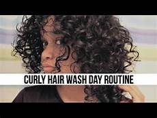 curly hair wash day routine short 3b hair youtube