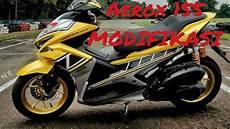 Modifikasi Aerox 155 Kuning by Modifikasi Aerox 155 Kuning Nvx155 Modif Aerox