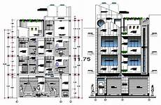 free cad software for house plans 2 d cad drawing of plan house elevation auto cad software