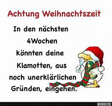 achtung weihnachtszeit lustige bilder spr 252 che witze