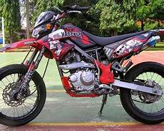 Modifikasi Klx 150 Motocross by Gambar Modifikasi Klx 150 Supermoto Motor Kawasaki