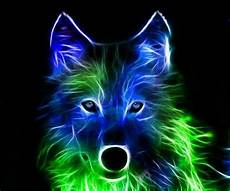 cool green wolf wallpaper neon wolf neon wonders wolves and neon