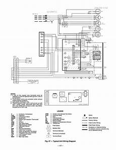 fig 47 typical unit wiring diagram bryant durapac 580f user manual page 47 52