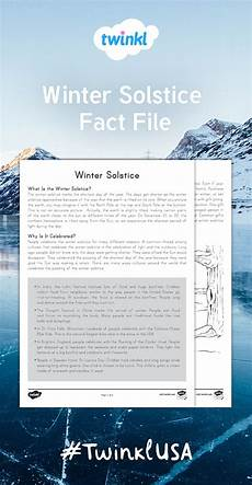 winter worksheets twinkl 20097 twinkl s winter solstice fact file is for learning more about the winte reading